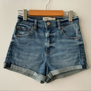 Garage Premium Ultra High-Rise Stretch Denim Short